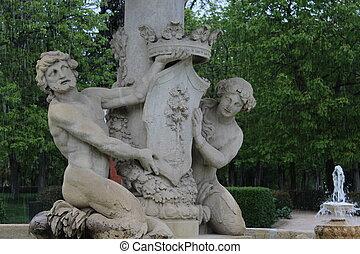 stone statue detail