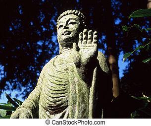 Stone statue of Budha