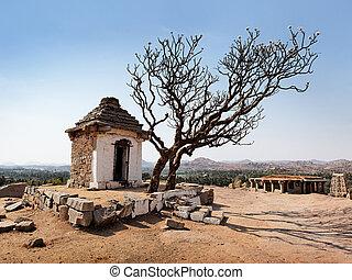 Hampi - Stone temple of Hampi town