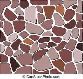 stone texture floor - brown, gray and orange stone texture...