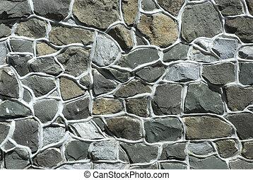 Stone texture wall .