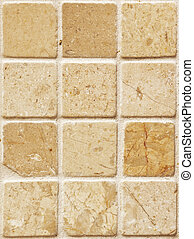 stone tiles - A photography of a seamless stone tiles wall