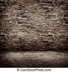 Stone vintage wall. All textures my own