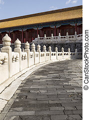 Stone Walkway leading to Temple