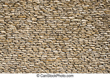 Stone wall 1 - the detail of a wall made of stones