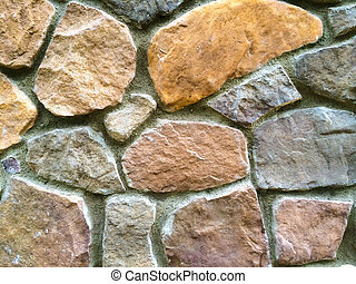 Stone Wall Abstract