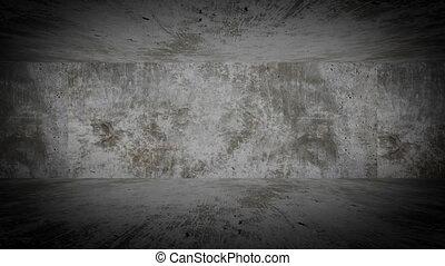 Stone wall - Animation stone room