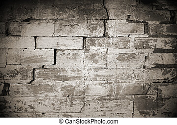 stone wall at old house