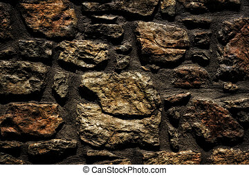 stone wall background close-up