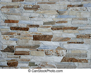 Stone Wall Background for copy space or wallpaper