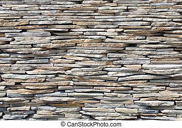 Stone wall background.