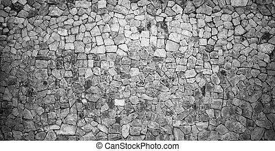 Stone Wall Black&White