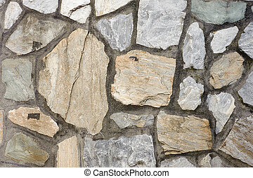 Stone wall exterior,background with good texture.