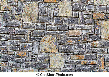 stone wall fence background