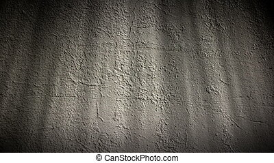 Stone Wall - Lights loop on stone wall background