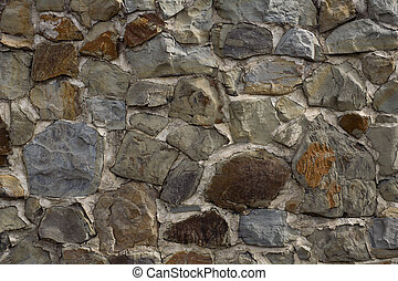 Stone wall - Texture of the stone wall