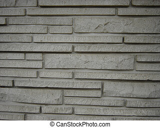 Stone Work - Long stone brick texture, used on house or...