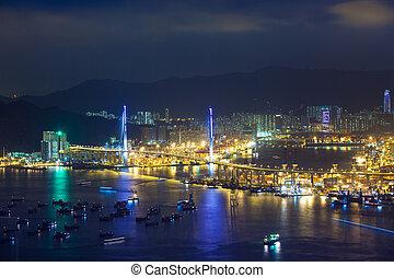 Stonecutters bridge, Hong Kong