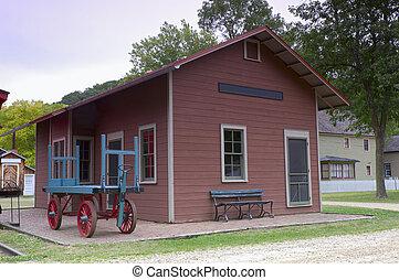 Stonefield Railroad Depot