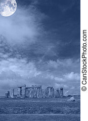 Stonehenge 002 - In UK
