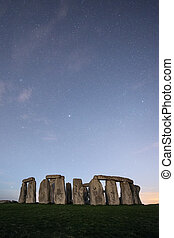 Stonehenge by starlight in Aylsbury Wilshire England