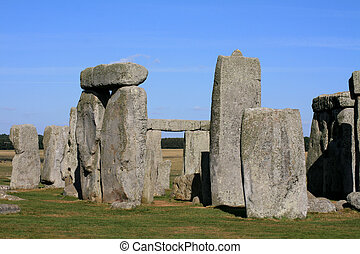 Stonehenge in salisbury plain England