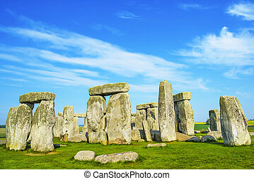 Stonehenge in Wiltshire in England