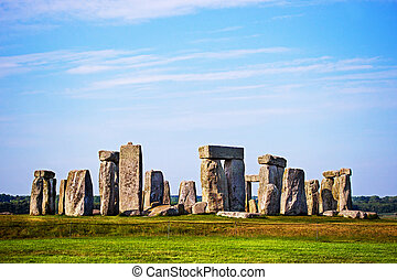 Stonehenge in Wiltshire in Great Britain