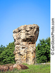 Stonehenge of Thailand, Mor Hin Khao at Chaiyaphum province Thai