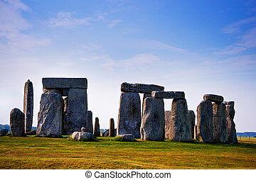 Stonehenge of Wiltshire in the Great Britain