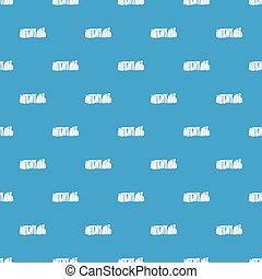 Stonehenge pattern seamless blue - Stonehenge pattern repeat...