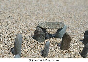 stonehenge, reproduktion