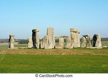 stonehenge, royaume-uni, england.