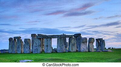 Stonehenge - Historical monument Stonehenge not far from...