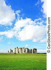 stonehenge, -, verticaal