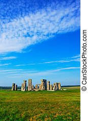 stonehenge, wiltshire, grande-bretagne