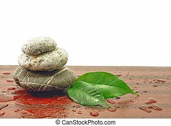 stones, воды, drops, гармония, спа