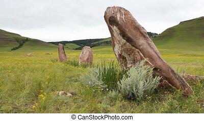 Stones 35 - Standing stones.