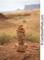 Stones balance - pebbles stack