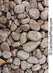Stones in clear water background