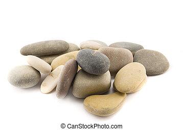stones isolated on white