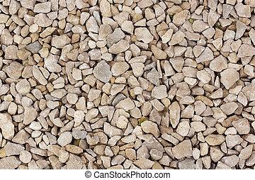 stones on the bottom