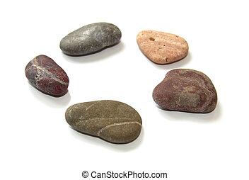 stones, spa., цветной