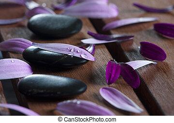 stones, spa