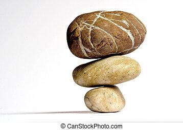 Stones - tree stones
