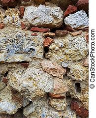 Stonewall - Close up view at stonewall