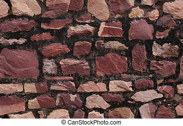 stonewall seamless texture - decorative stone masonry...