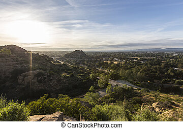 Stoney Point morning in Los Angeles California