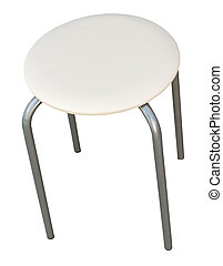stool isolated on white