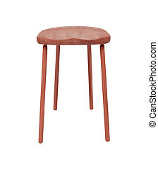 stool isolated on white background
